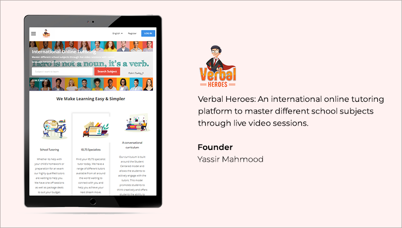 YoCoach powered tutoring platform in middle east